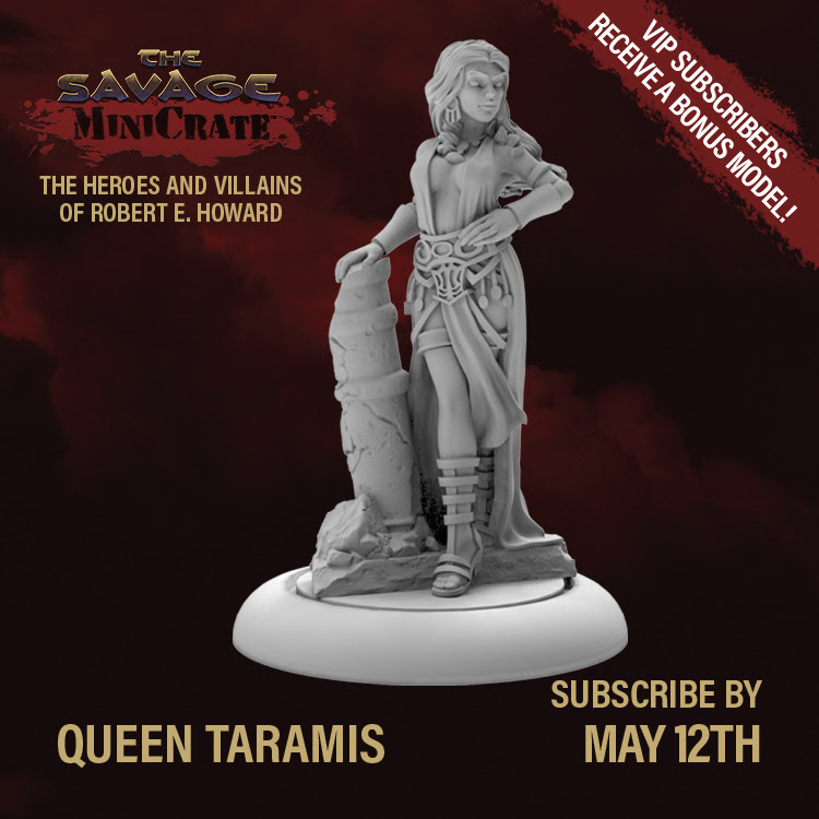 Queen Taramis Savage MiniCrate