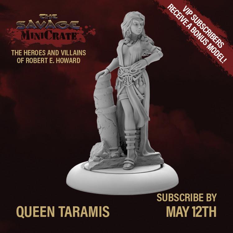 Queen Taramis Savage MiniCrate
