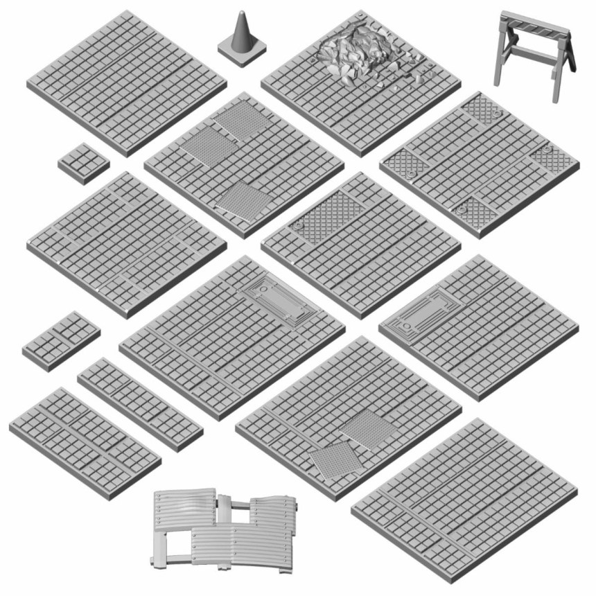 Vault Flooring Pack