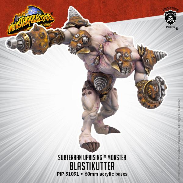 BLASTIKUTTER - SUBTERRAN UPRISING MONSTER