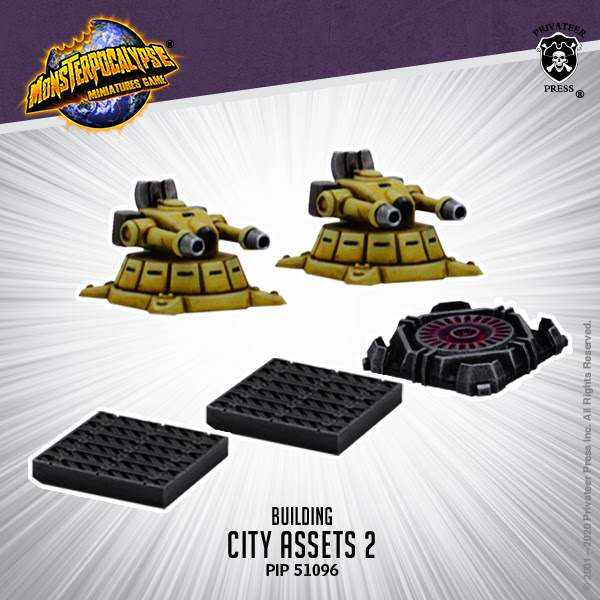 CITY ASSETS EXPANSION 2 - MONSTERPOCALYPSE BUILDING