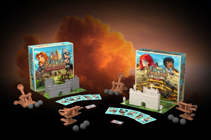 Catapult Kingdoms and Siege expansion