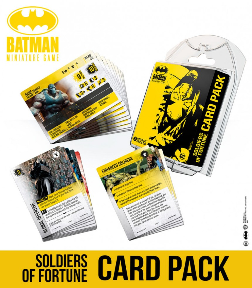 Soldiers Of Fortune Card Pack