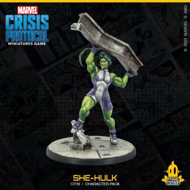 She-Hulk Marvel: Crisis Protocol