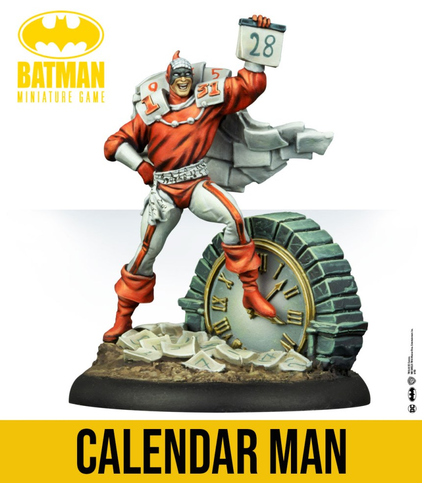 Batman Miniature Game: Calendar Man