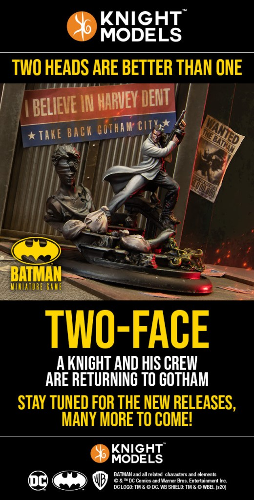 Batman Miniature Game Two-Face