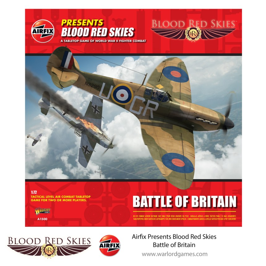 Airfix Presents: Blood Red Skies Battle of Britain