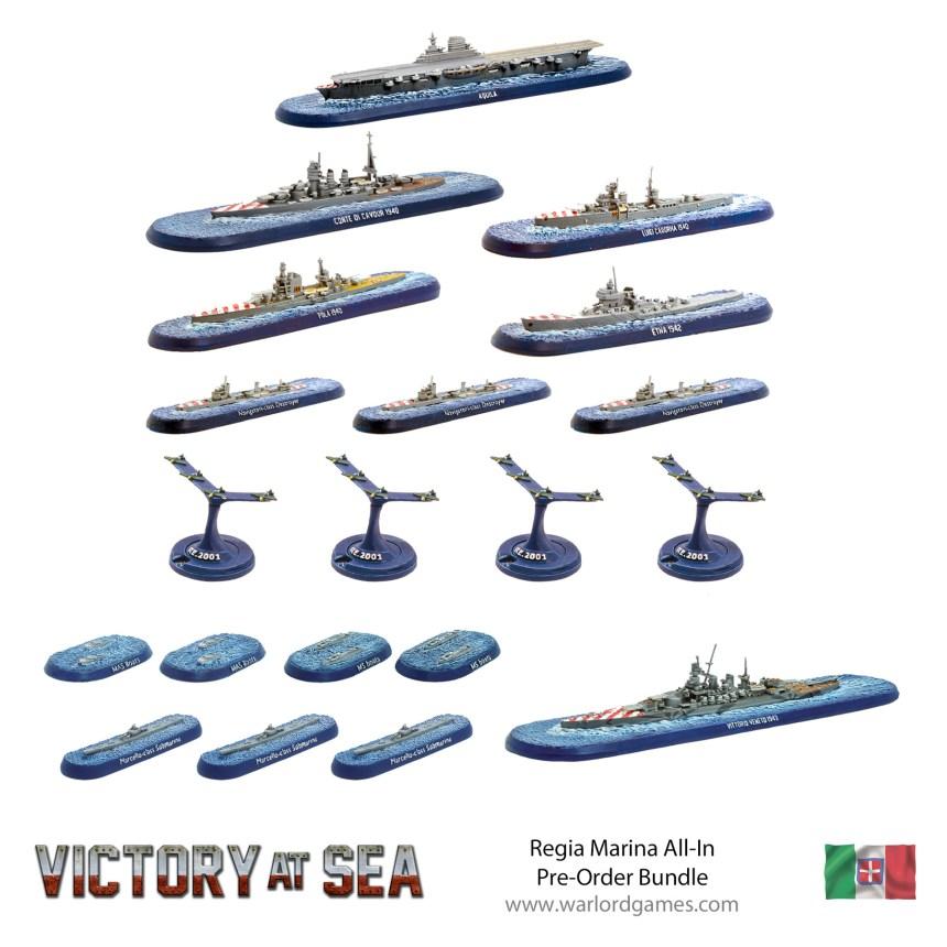 Regia Marina all-in one pre-order bundle