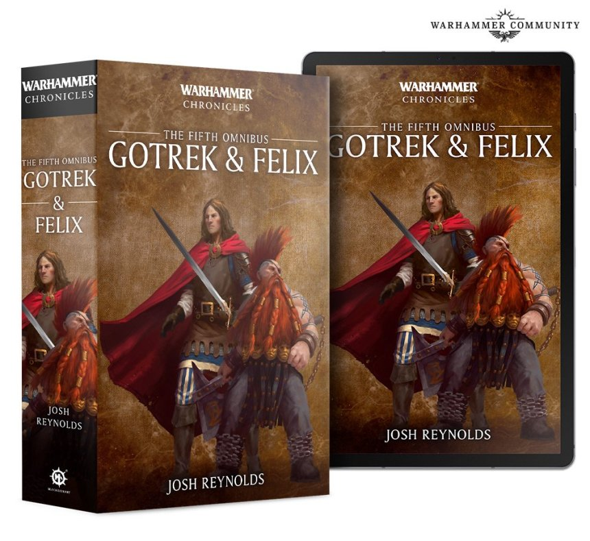 fifth Gotrek & Felix omnibus