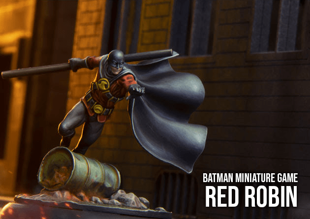 Batman Miniature Game Red Robin