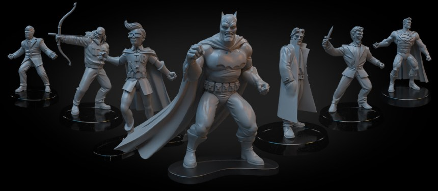 Batman: Dark Knight Returns - the Game miniatures