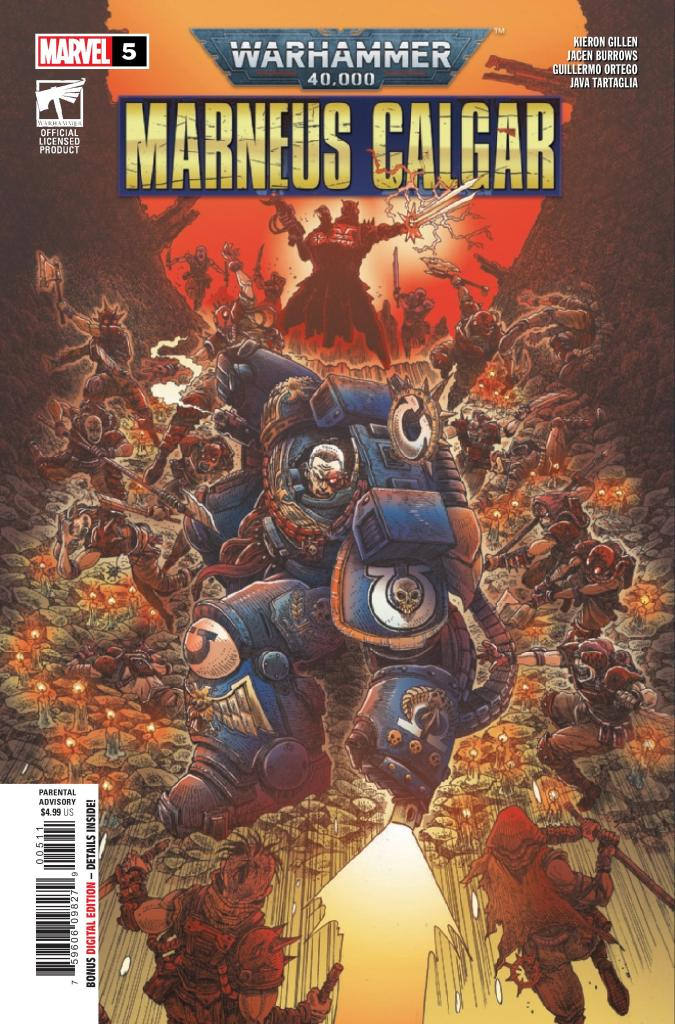 Warhammer 40,000: Marneus Calgar #5 (of 5)