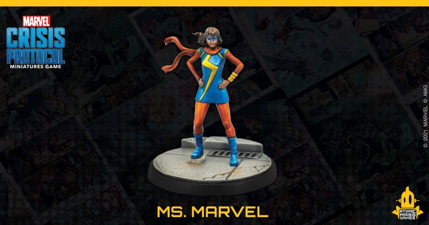 Kamala Khan, Ms. Marvel Marvel: Crisis Protocol