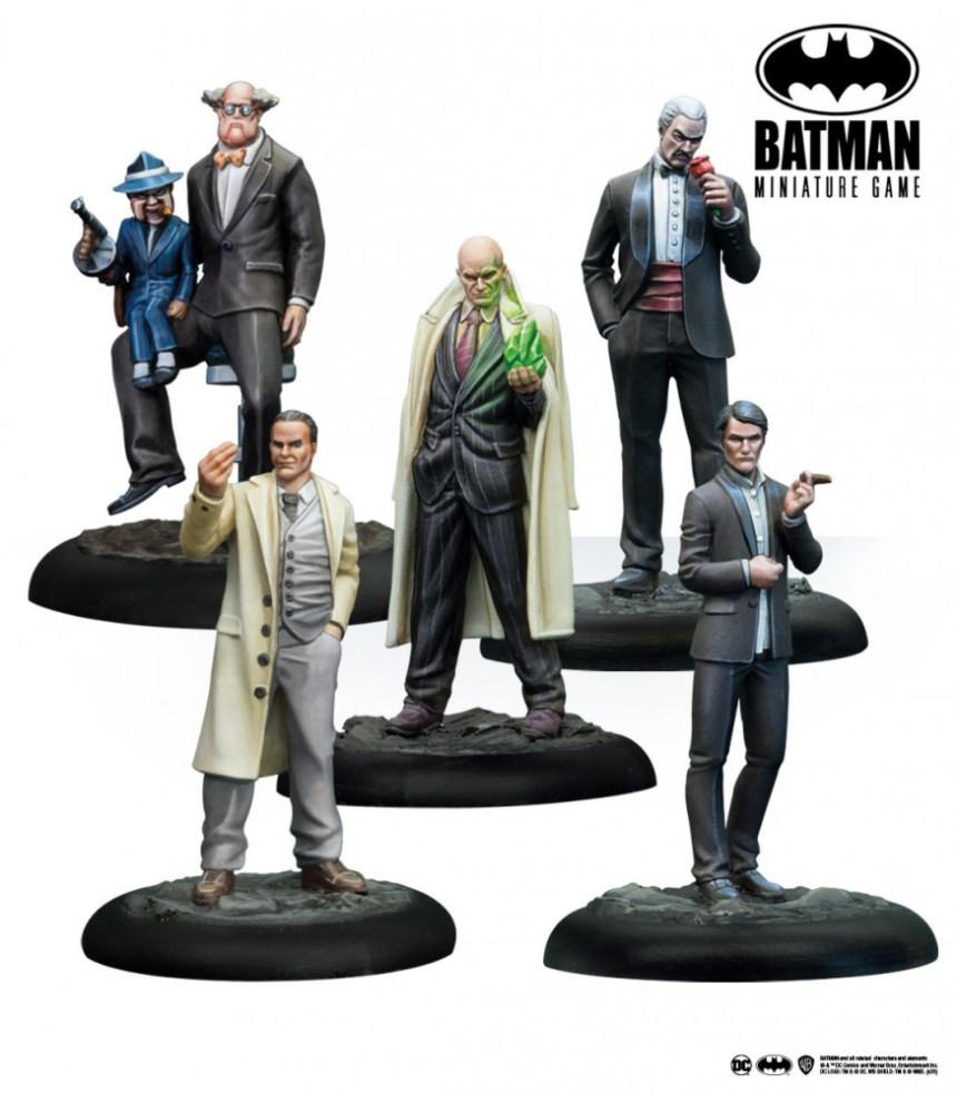 Batman Miniature Game: Gotham Crime Lords