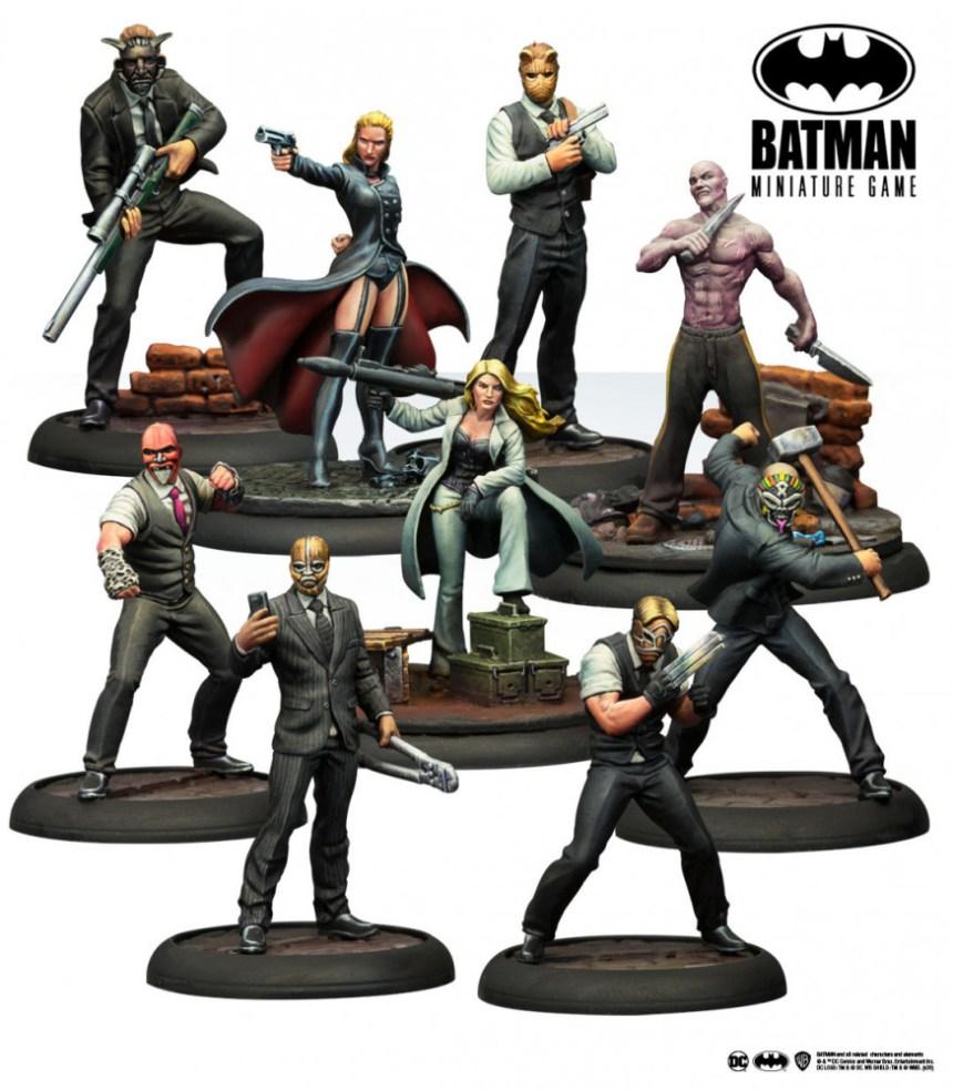 Batman Miniature Game: Organized Crime Pain & Money