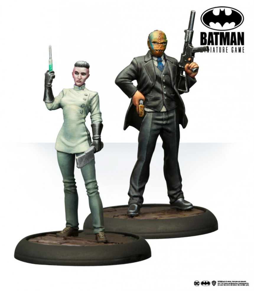 Batman Miniature Game: Pain & Money Reinforcements