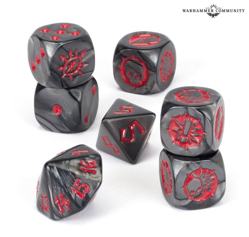 Chaos Chosen Team Dice Pack