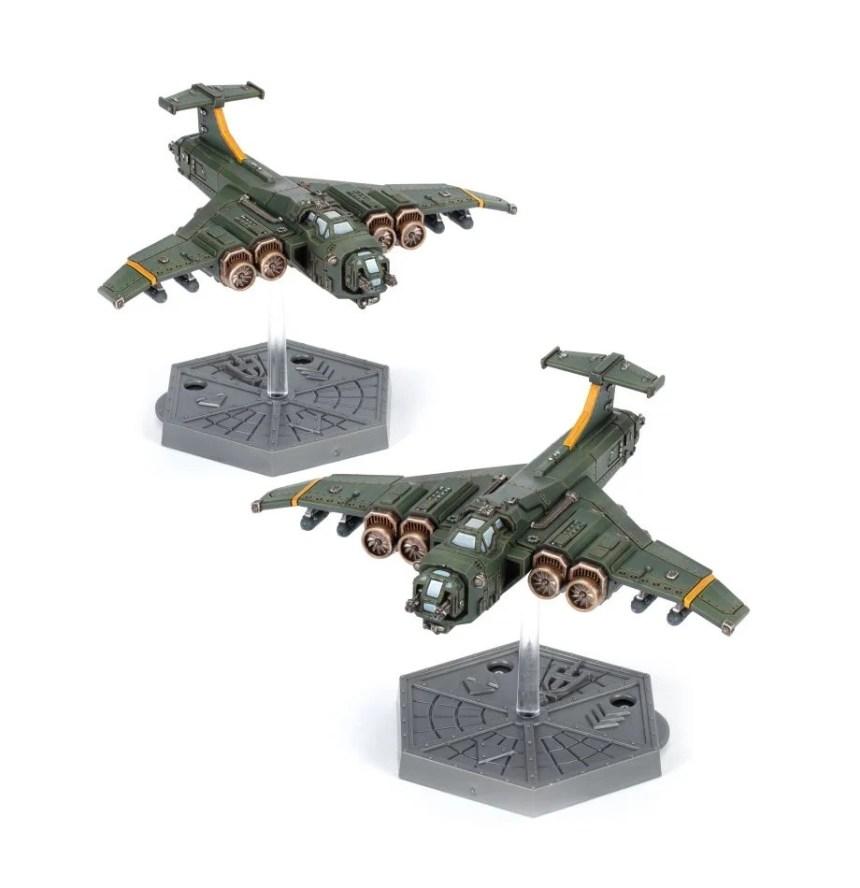 Aeronautica Imperialis Marauder Colossus Bombers