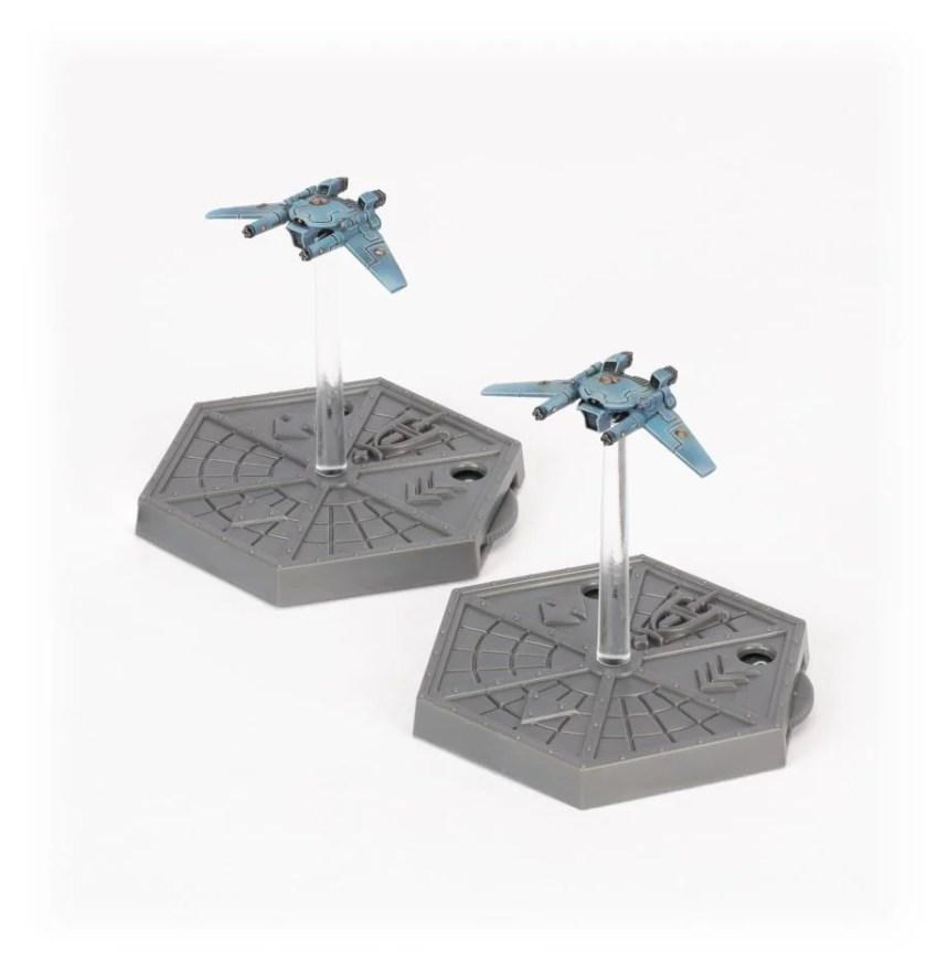 Aeronautica Imperialis Remora Drones