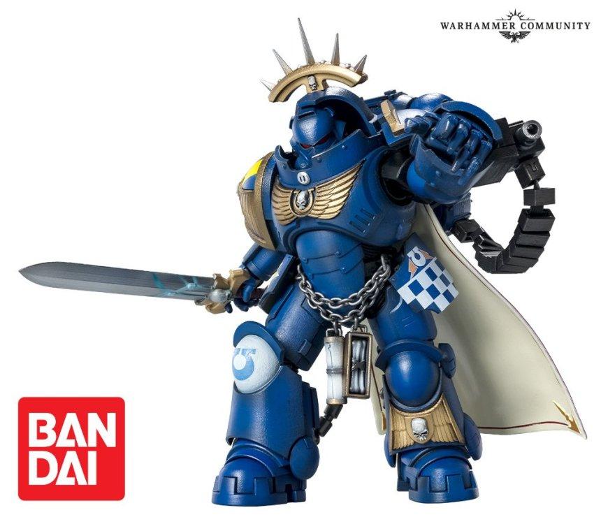 Ultramarines Primaris Captain in Gravis Armour