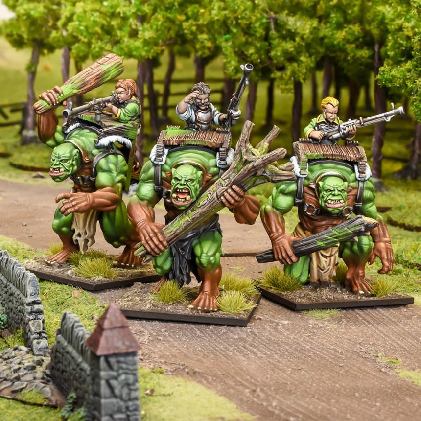 FOREST TROLL GUNNERS