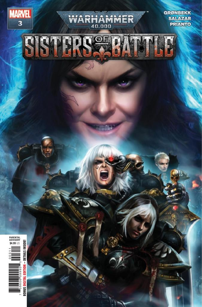 Warhammer 40,000: Sisters of Battle #3 (of 5)