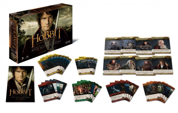 The Hobbit An Unexpected Journey Deck Building Game Contents