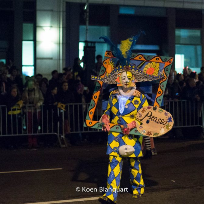 Halloween Parade NYC 2014