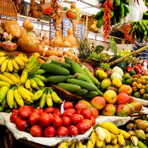Fresh market in Funchal