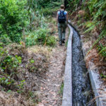 Walking the levada in Madeira by Koen Blanquart