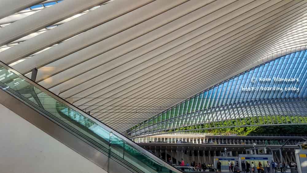 Liege Guillemins station, Belgium