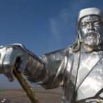 Statue of Genghis Khan outside of Ulaanbaatar, Mongolia