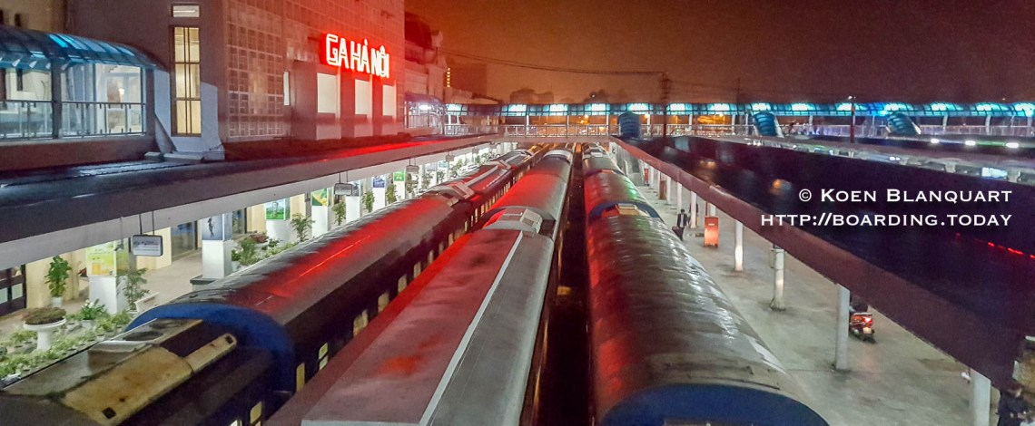 Ga Ha Noi - Hanoi Railway Station - Terminus of the train Saigon-Hanoi