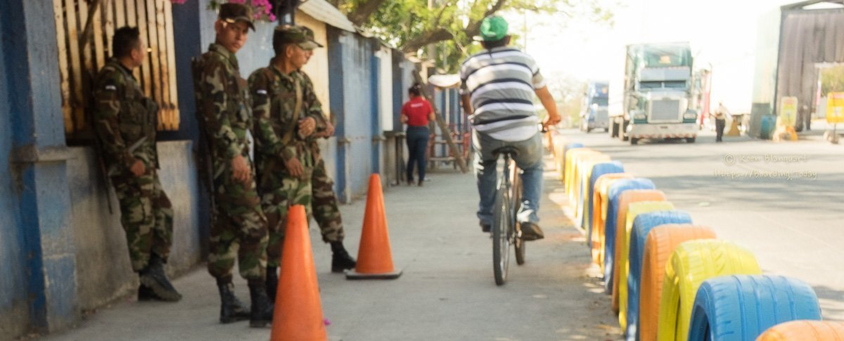 Border crossing Costa Rica – Nicaragua