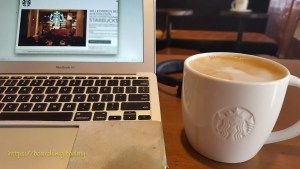 Working in a coffeeshop as digital nomad