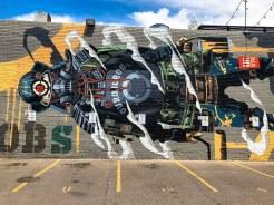 Funky as hell: Denver
