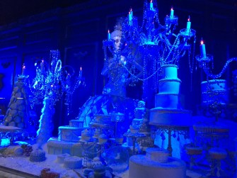 Winter Palace display at Saks Fifth Avenue