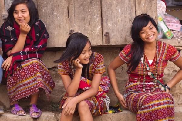 Traditional Mara dress, Siaha.