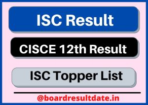 ISC Result
