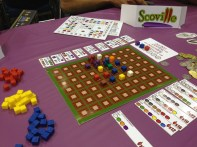 Unfortunately I only got Scoville to the table for three different groups, which included 7 first time players.