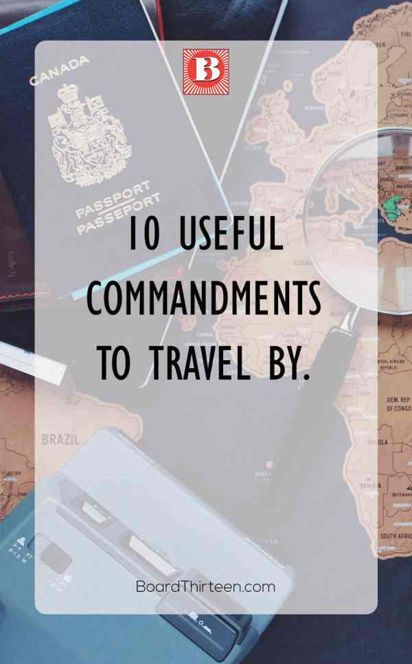 travel made easy with these tips and learned wisdom.