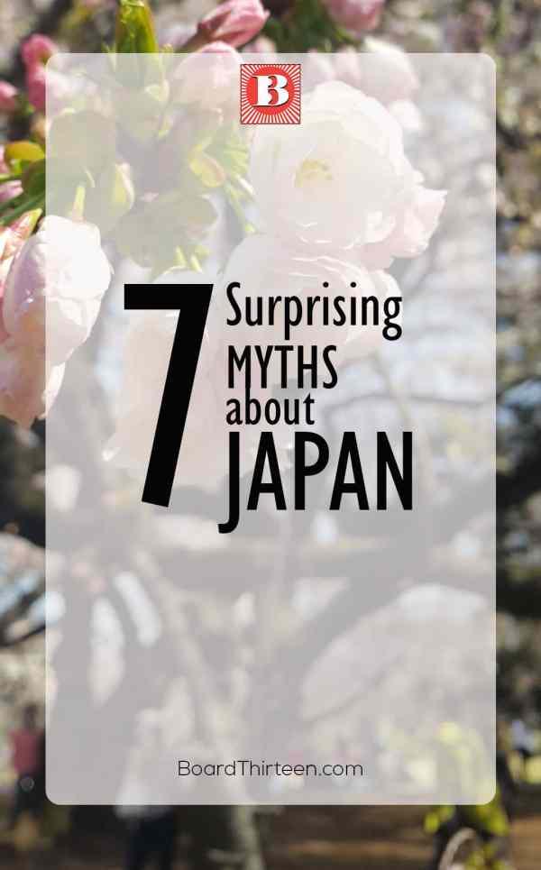 Japan 7 Myths