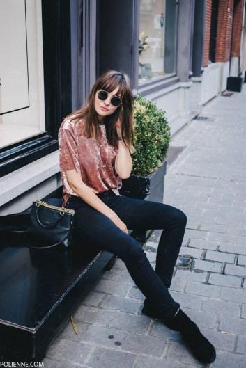 velvet travel fashion