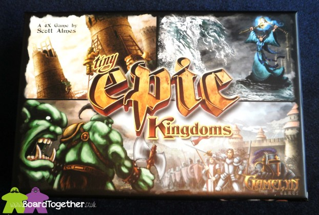 Tiny Epic Kingdoms, Box Cover Art