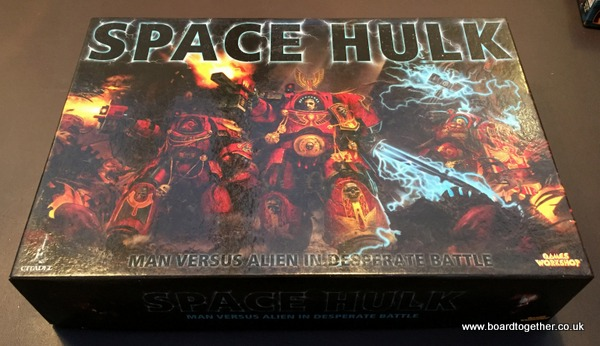 Space Hulk! Awesome box of Awesome!