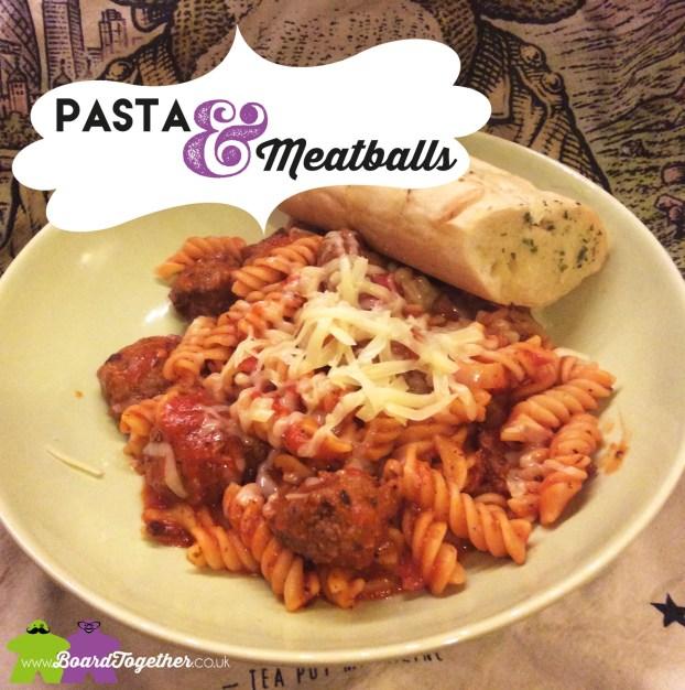 Pasta & Meetballs, tomato sauce recipe