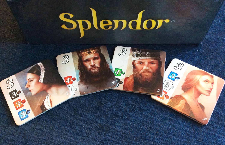 Splendor Promo Nobles