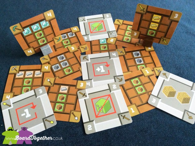 Minecraft The Cardgame? Tool cards