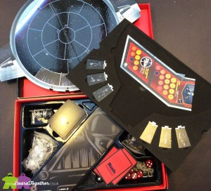 Star Wars, Risk, Black Edition, box contents