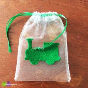 Handmade Organza Drawstring Bag